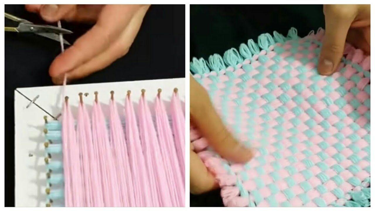 Kasnak Lif Ornegi Yapimi How To Made Loom Knitting 2021 El Tezgahinda Orgu Orme Tezgahi Desenleri Elisi Fikirleri