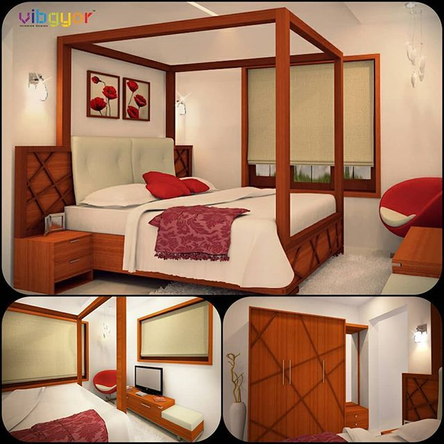 Design for small bedrooms 3D view in #3dsmax #3drendering #vray
