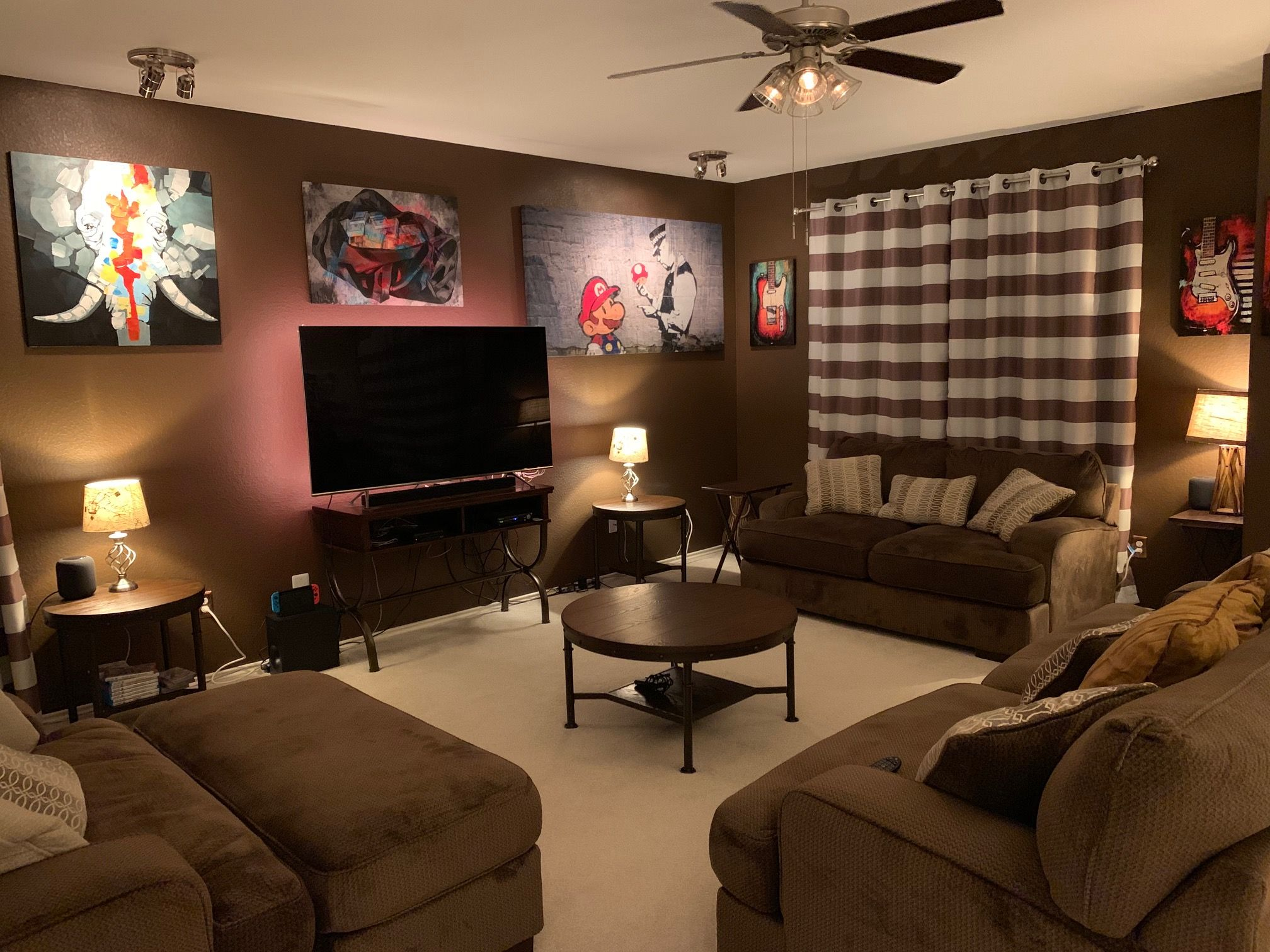 A Guy Room Man Room Living Spaces Room