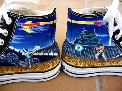 Awesome Street Fighter 2 Shoes