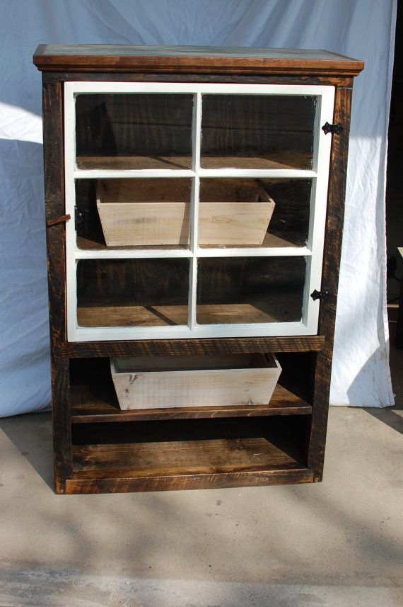 The Jill Reclaimed Barnwood Farmhouse Cabinet With By