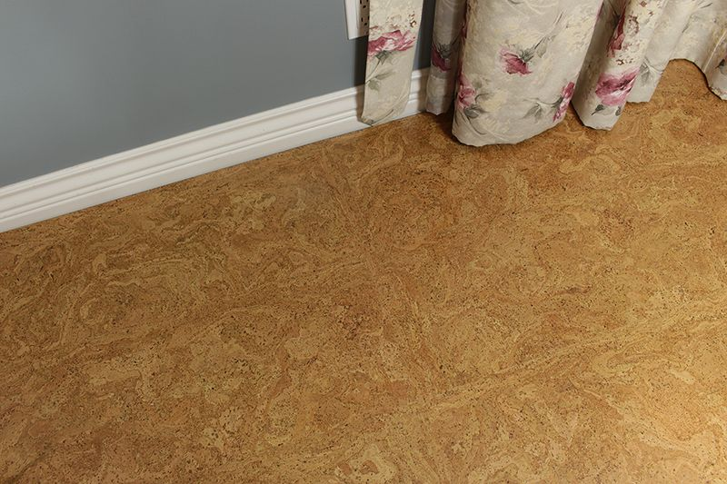Cork Board Floor Desert Arable 10mm Forna Floating Cork Flooring Flooring Cork Board