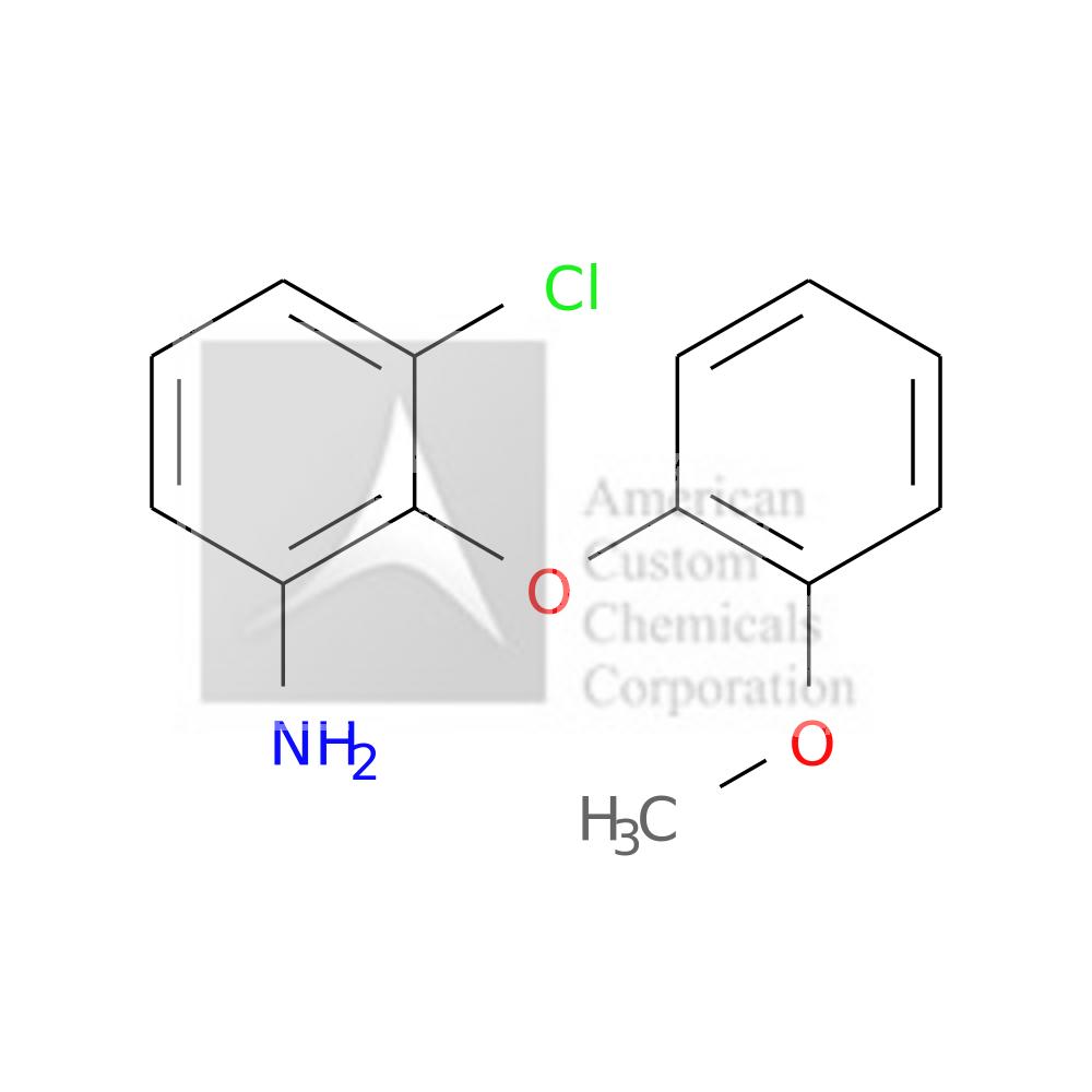 3-CHLORO-2-(2-METHOXYPHENOXY)PHENYLAMINE is now  available at ACC Corporation
