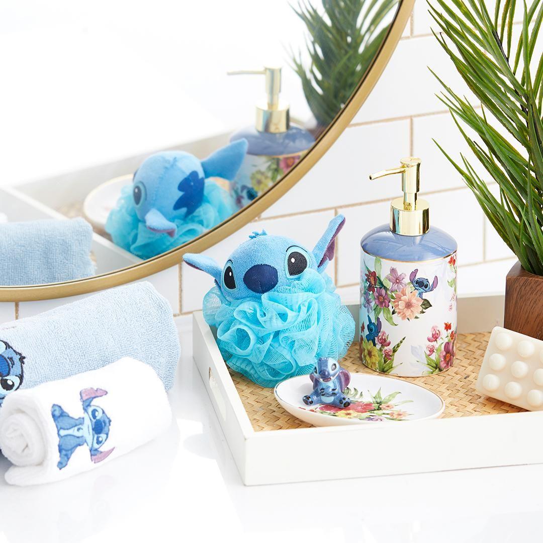 Make Your Bathroom Feel Like An Island Oasis | Disney Lilo And Stitch Bathroom  Collection