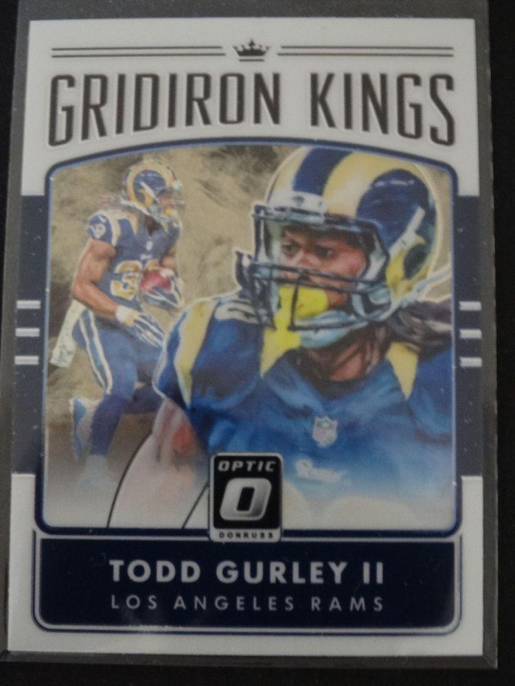 2016 Donruss Optic 15 Todd Gurley Gridiron Kings Los