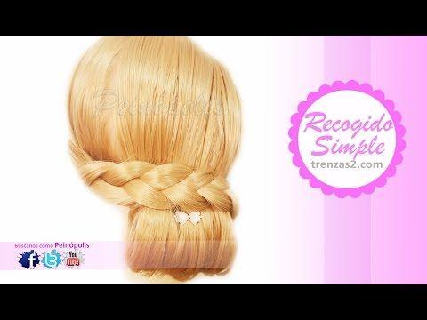 Peinados de Moda, Bonitos y Elegantes en 3 MINUTOS!!