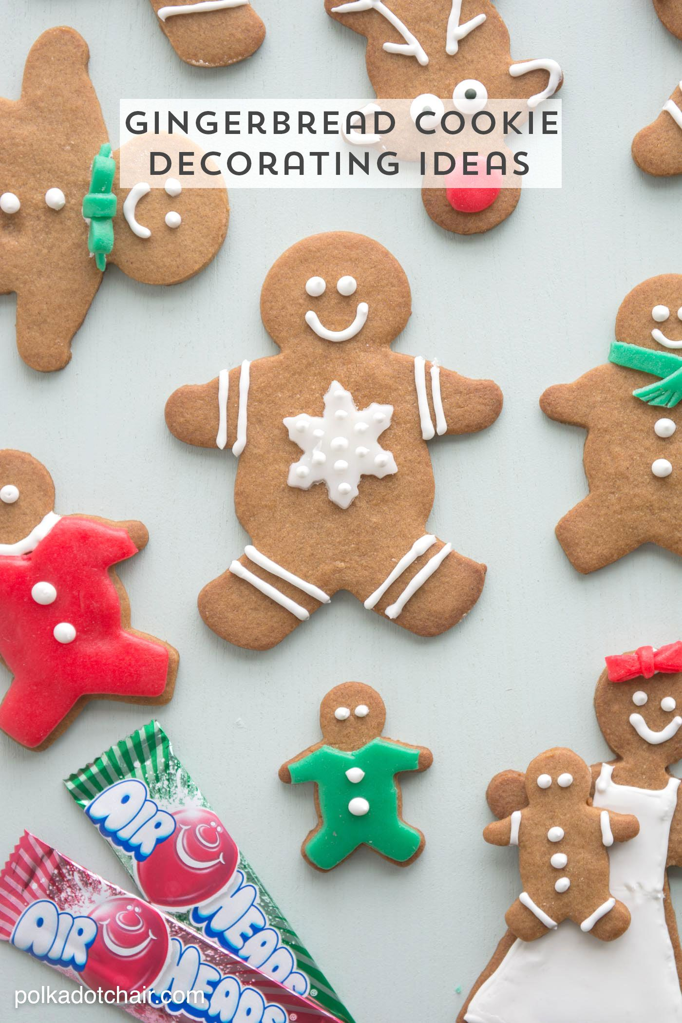 Gingerbread Cookie Decorating Ideas Gingerbread Cookies Cookie