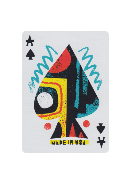 Off The Wall Playing Cards by Art of Play poker jeu cartes cardistry