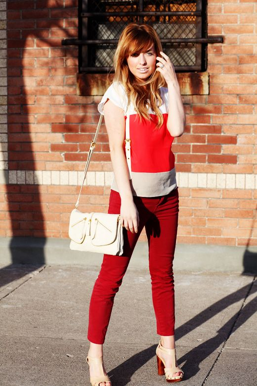 Shoes: c/o Frock Candy, Pants: UO, Top: UO, Purse: c/o LeMode Accessories