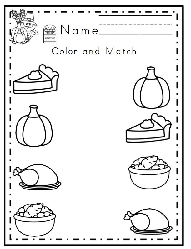Thanksgiving Printable No Prep ~ Preschool Printables Thanksgiving  Worksheets, Thanksgiving Preschool, Preschool Worksheets
