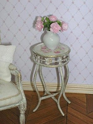 how to: romantic pedestal table (link to PDF and printable)