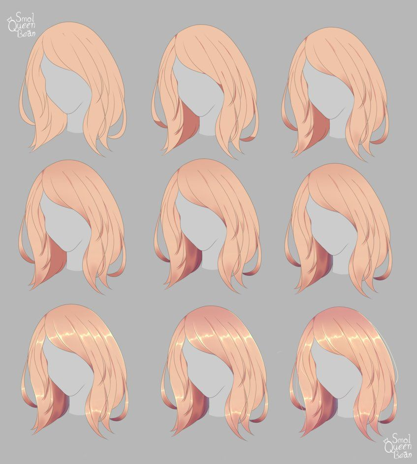 Other Tutorial This Time Hair Shading I Ve Always Struggled With Drawing And Shading Hair So Hopefully Thi Hair Shades Blonde Hair Shades How To Draw Hair