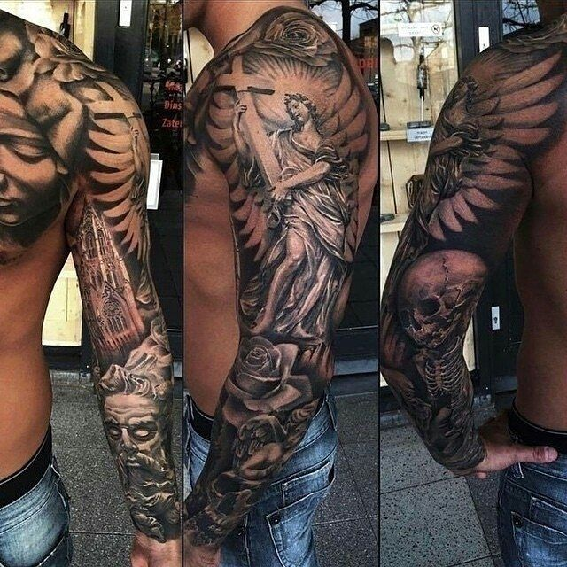 Best 25 Badass Tattoos Ideas On Pinterest: Tattoos, Sleeve Tattoos, Arm Sleeve