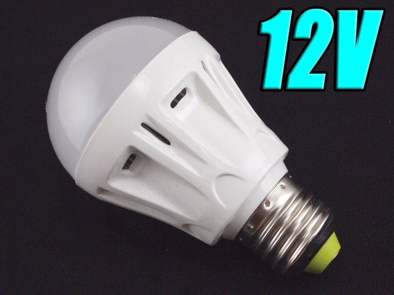 Light Bulbs 20706 12v Dc 600 Lumens 7 Watt Cool White Led A19 Globe E27 Light Bulb Buy It Now Only 14 5 On Ebay Light Bulbs Light Bulb E27 Lights Bulb
