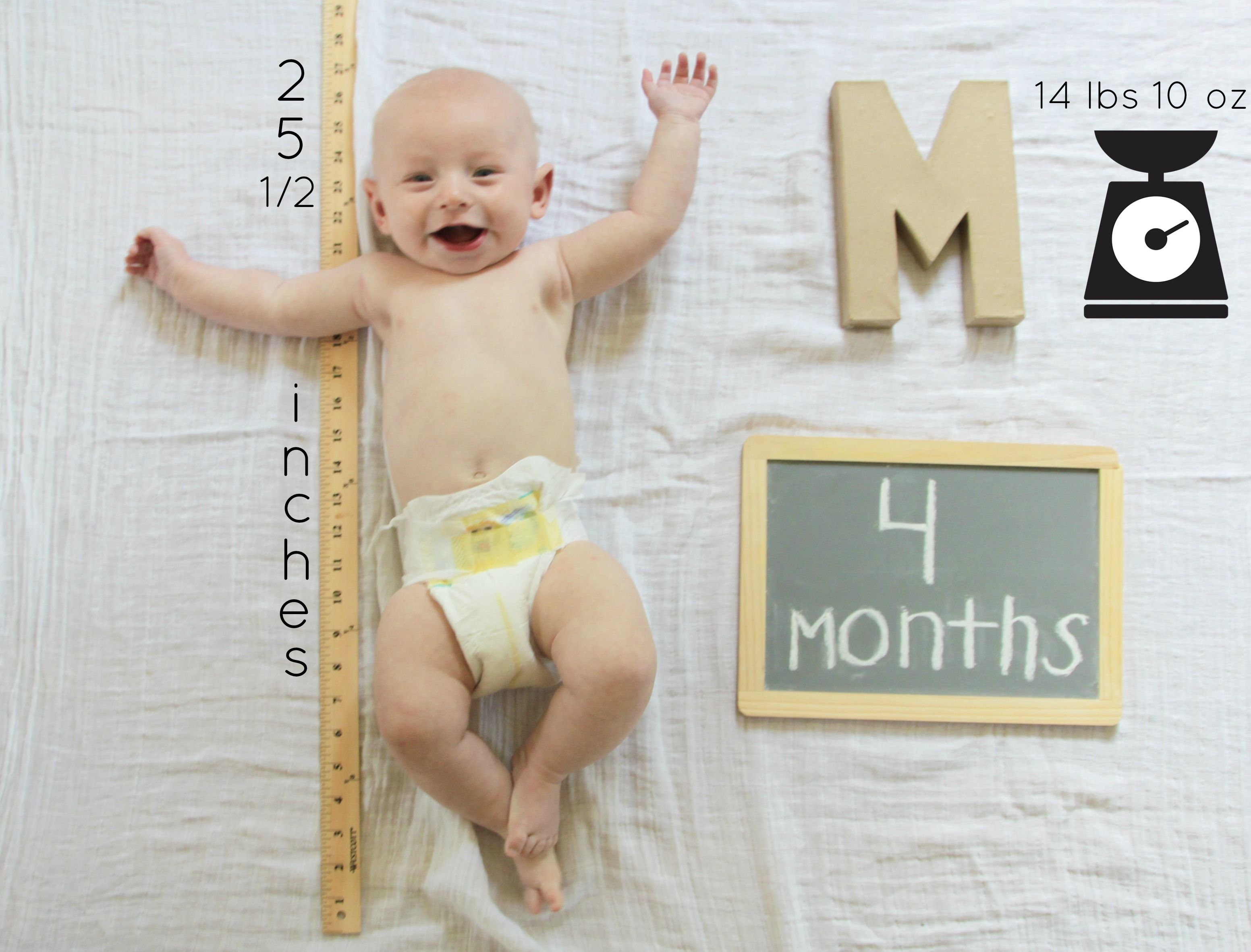 Macks Month Four One Month Baby Baby Milestones Pictures Newborn Baby Photography