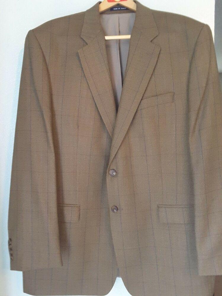 d631dc24af2 Ralph Lauren Total Comfort Sport Coat size 48