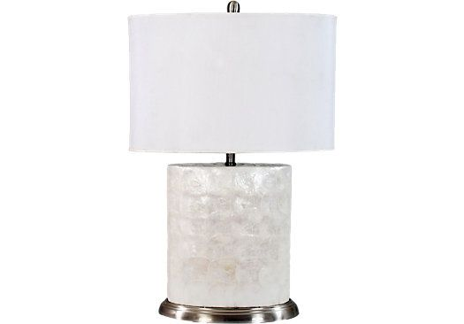 Cindy Crawford Home Shell Lamp. $119.99. 30 In. Ht.. Find Affordable