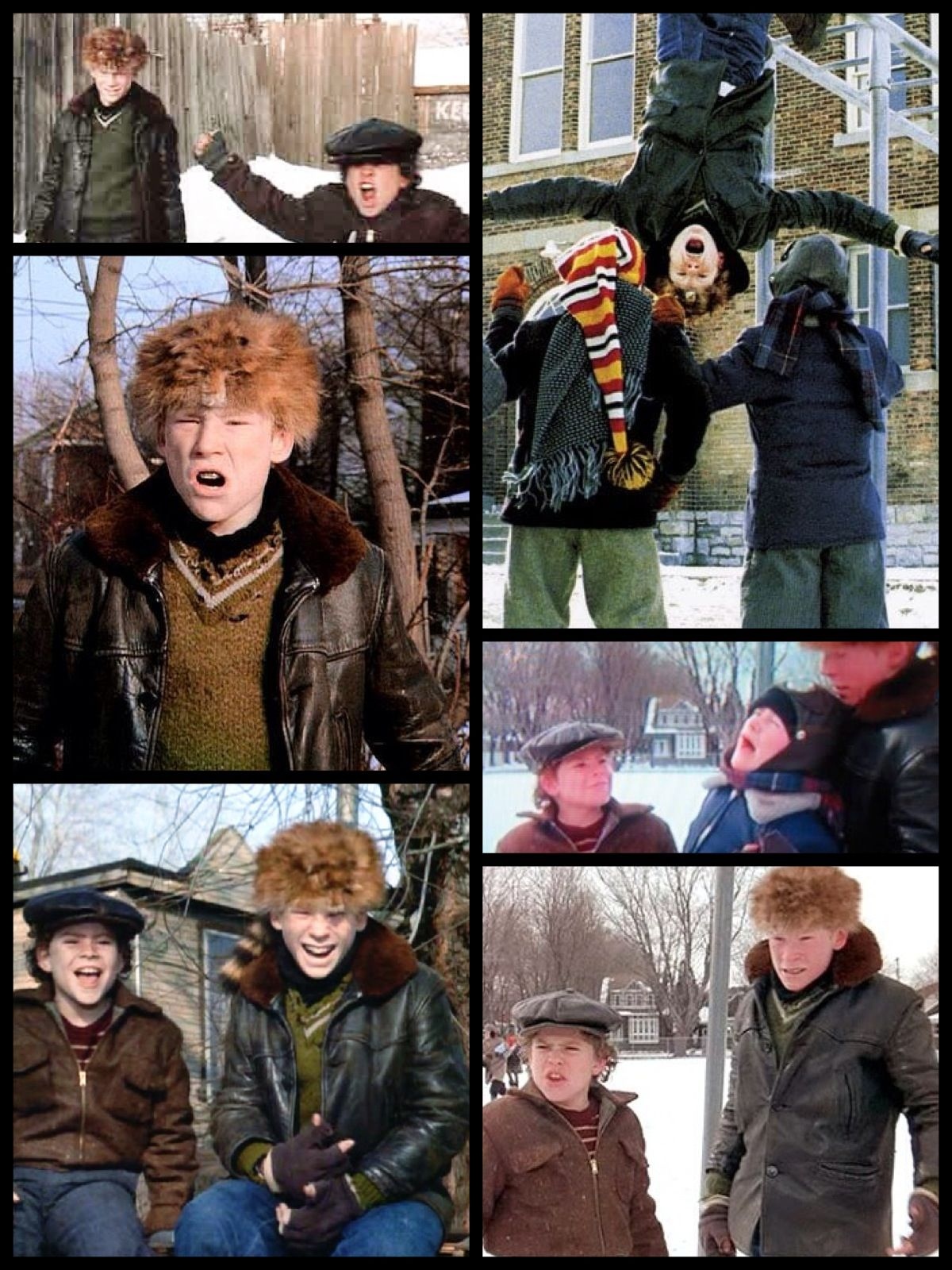 "A Christmas Story 1983 The Bullies. ""Scut Farkus! What a"