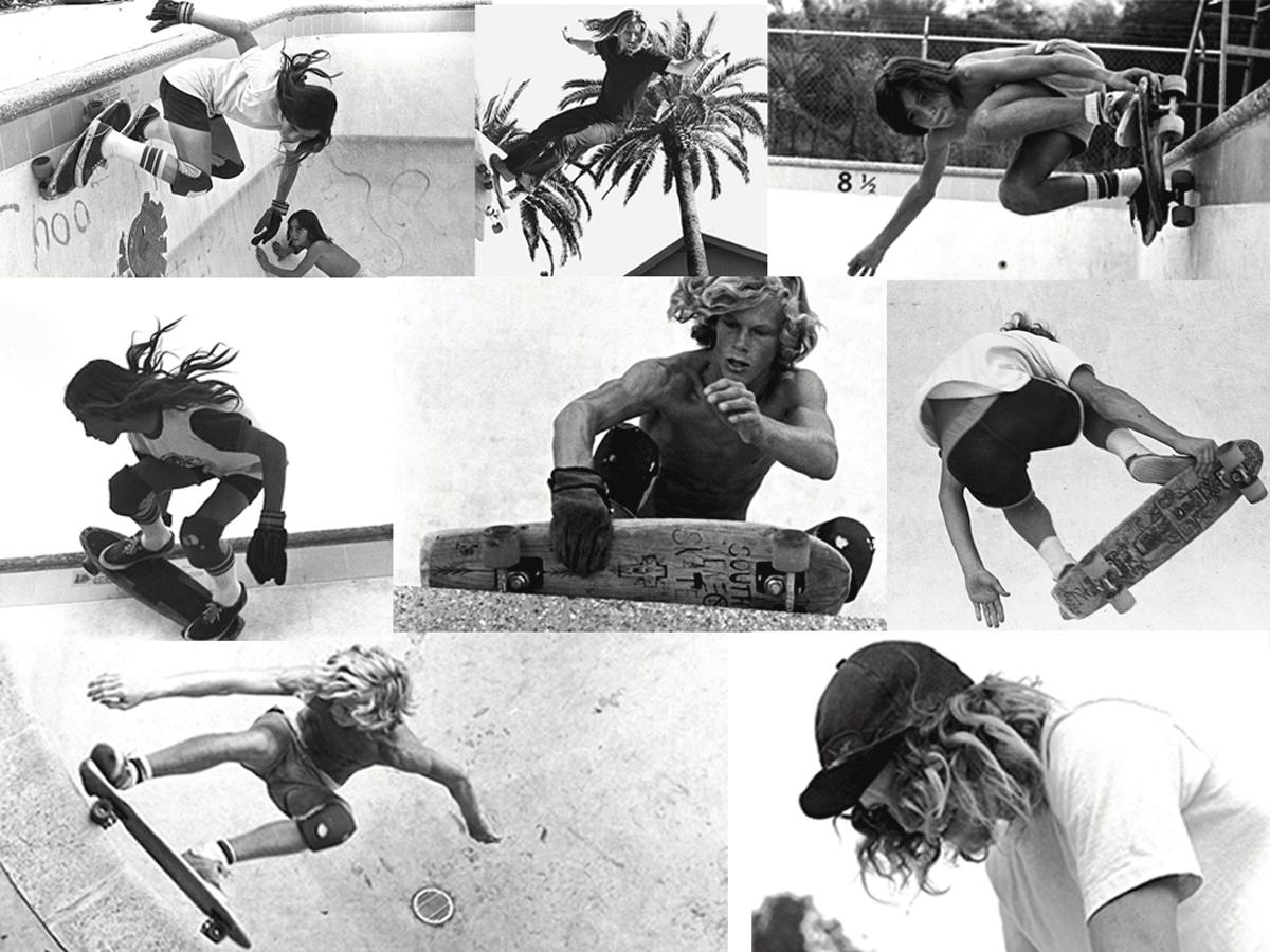 California skateboarding revolution and fashion look books