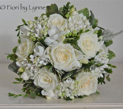 Flores de la boda Blog: Los colores blanco y verde