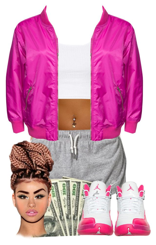 """""""Untitled #329"""" by tanyabanks-101 ❤ liked on Polyvore featuring NIKE and Topshop"""