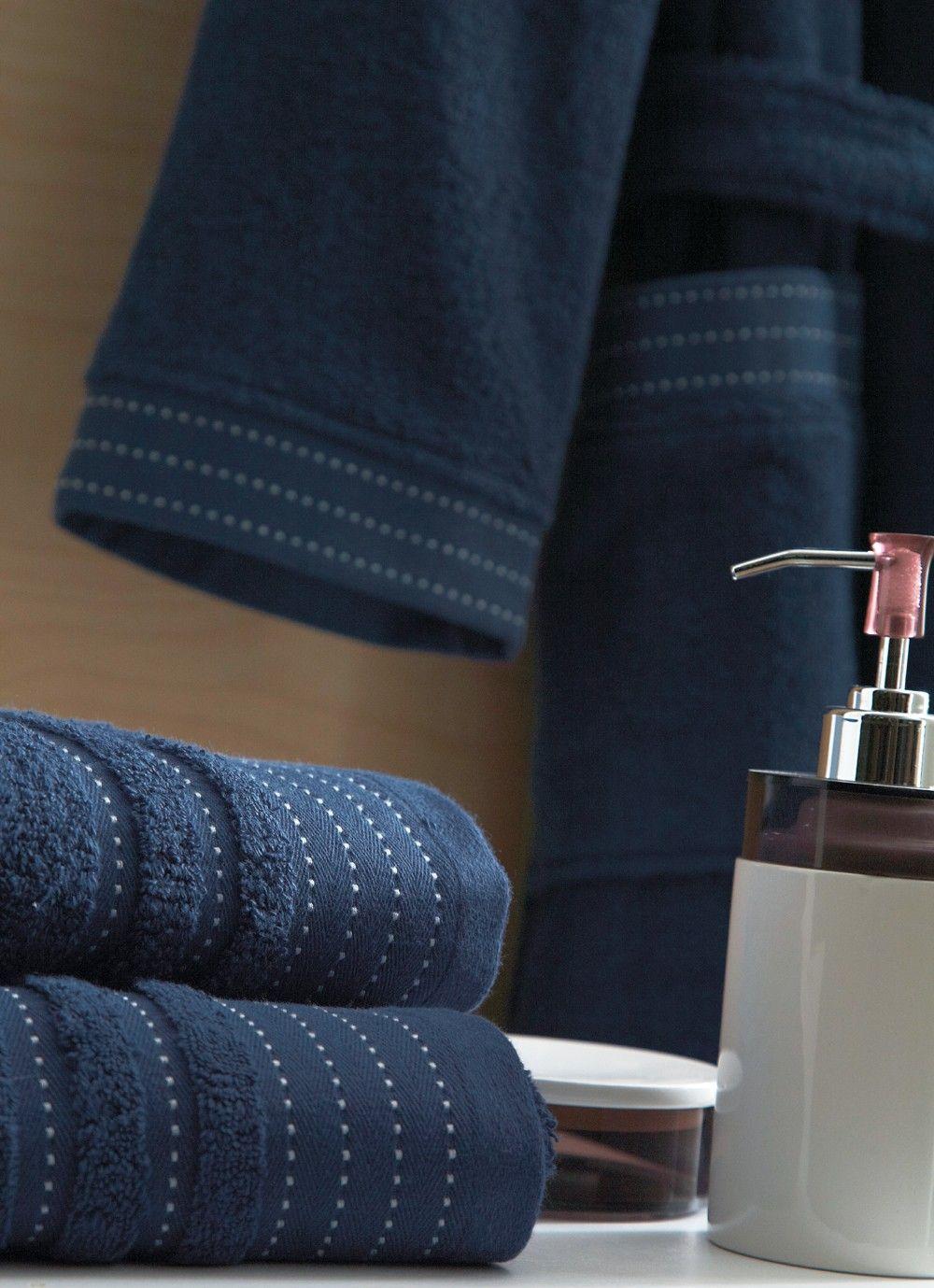 linge de toilette blanc des vosges sir marine. Black Bedroom Furniture Sets. Home Design Ideas