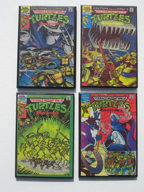 Vintage Comic Book Cover Coasters - Teenage Mutant Ninja ...