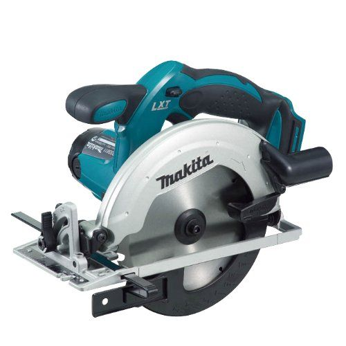 Makita BSS611RFE 18V LXT Li-ion Circular Saw with 2 x Batteries - http://homeimprovementx.co.uk/tools/saws/makita-bss611rfe-18v-lxt-li-ion-circular-saw-with-2-x-batteries/