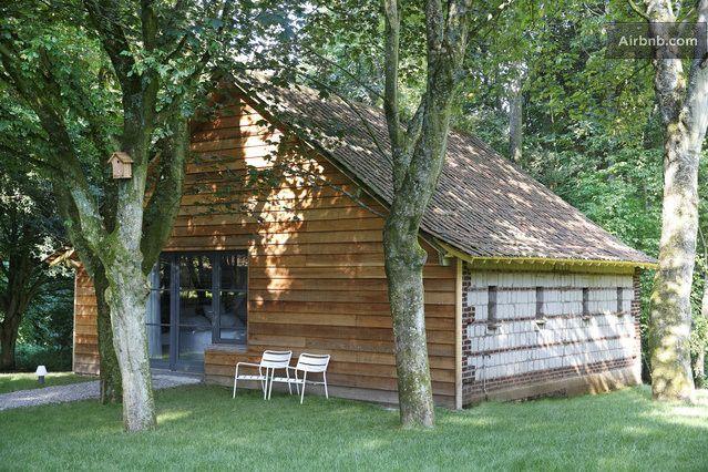 Un Matin Dans Les Bois La Suite A Loison Sur Crequoise Maison De Vacances Dans Les Bois Maison D Hotes