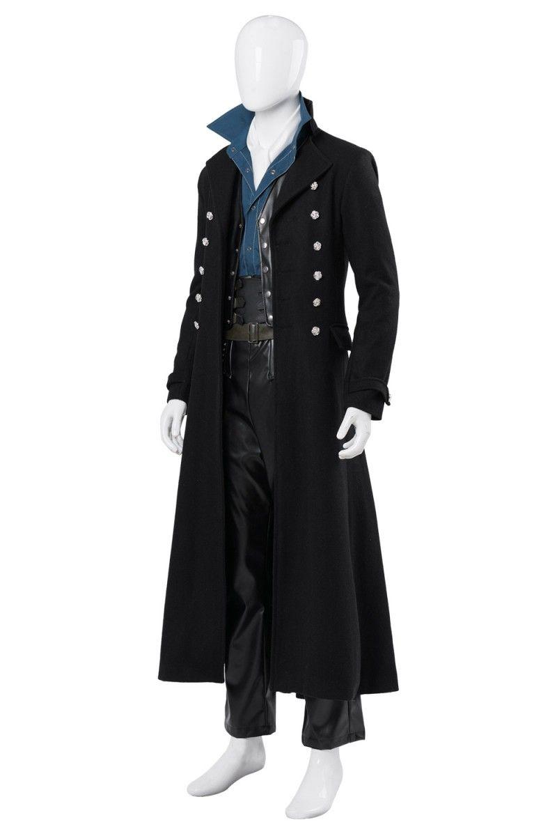 Gellert Grindelwald Fantastic Beasts The Crimes of Grindelwald Cosplay Costume