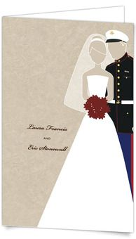 Half Fold Wedding Invitations