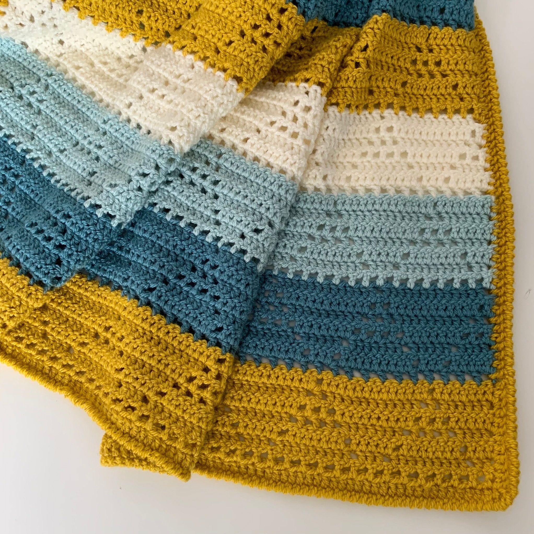 Crochet Pattern Snowy Mountains Blanket Pdf English Etsy In 2020 Crochet Blanket Colors Baby Blanket Crochet Pattern Crochet Patterns