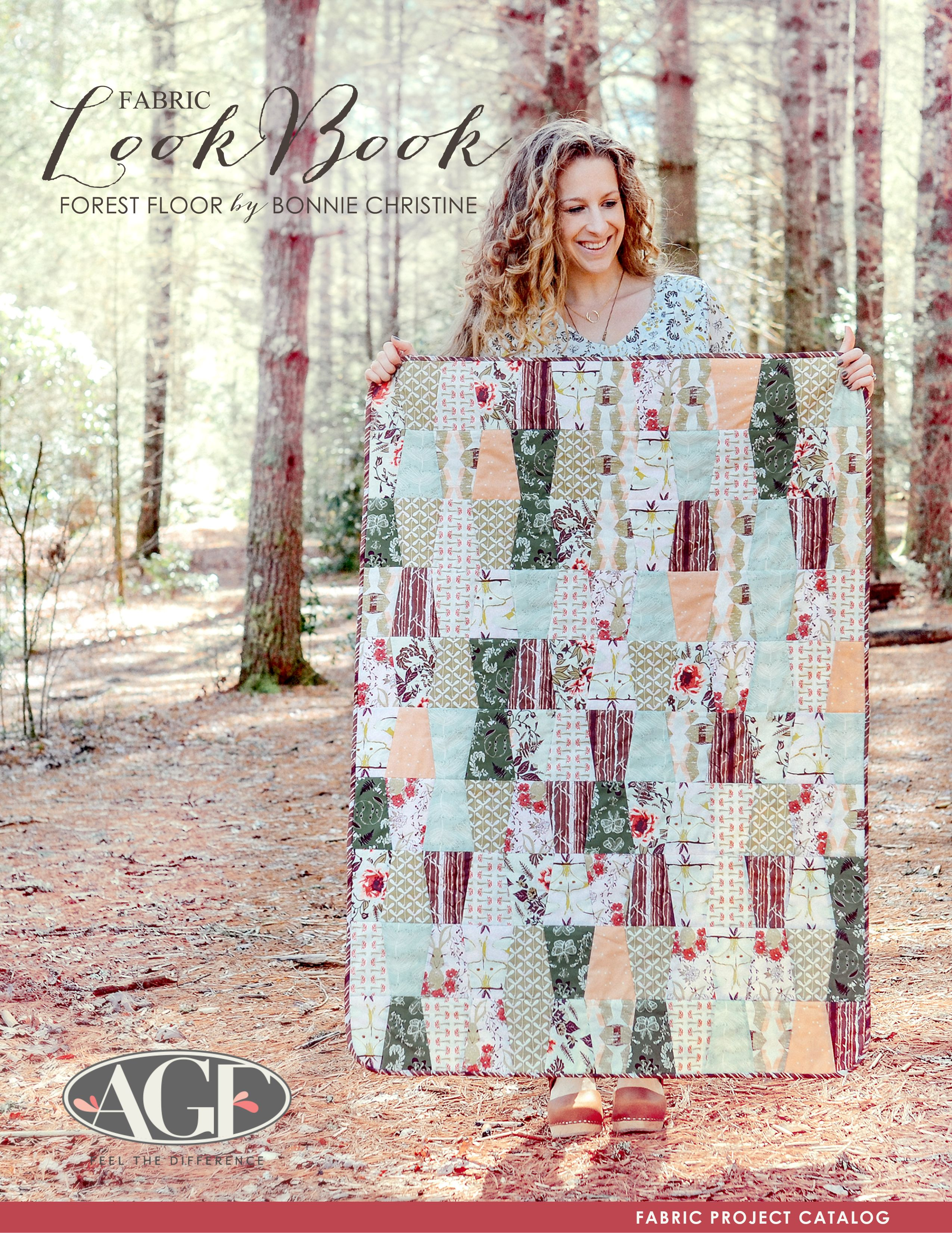 Forest Floor by Bonnie Christine Sew Crafts and Sewing