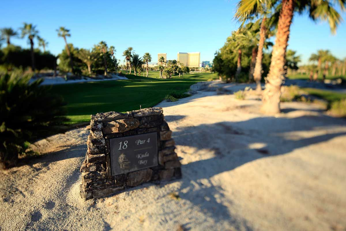 18th hole bali hai golf course beautiful golf courses