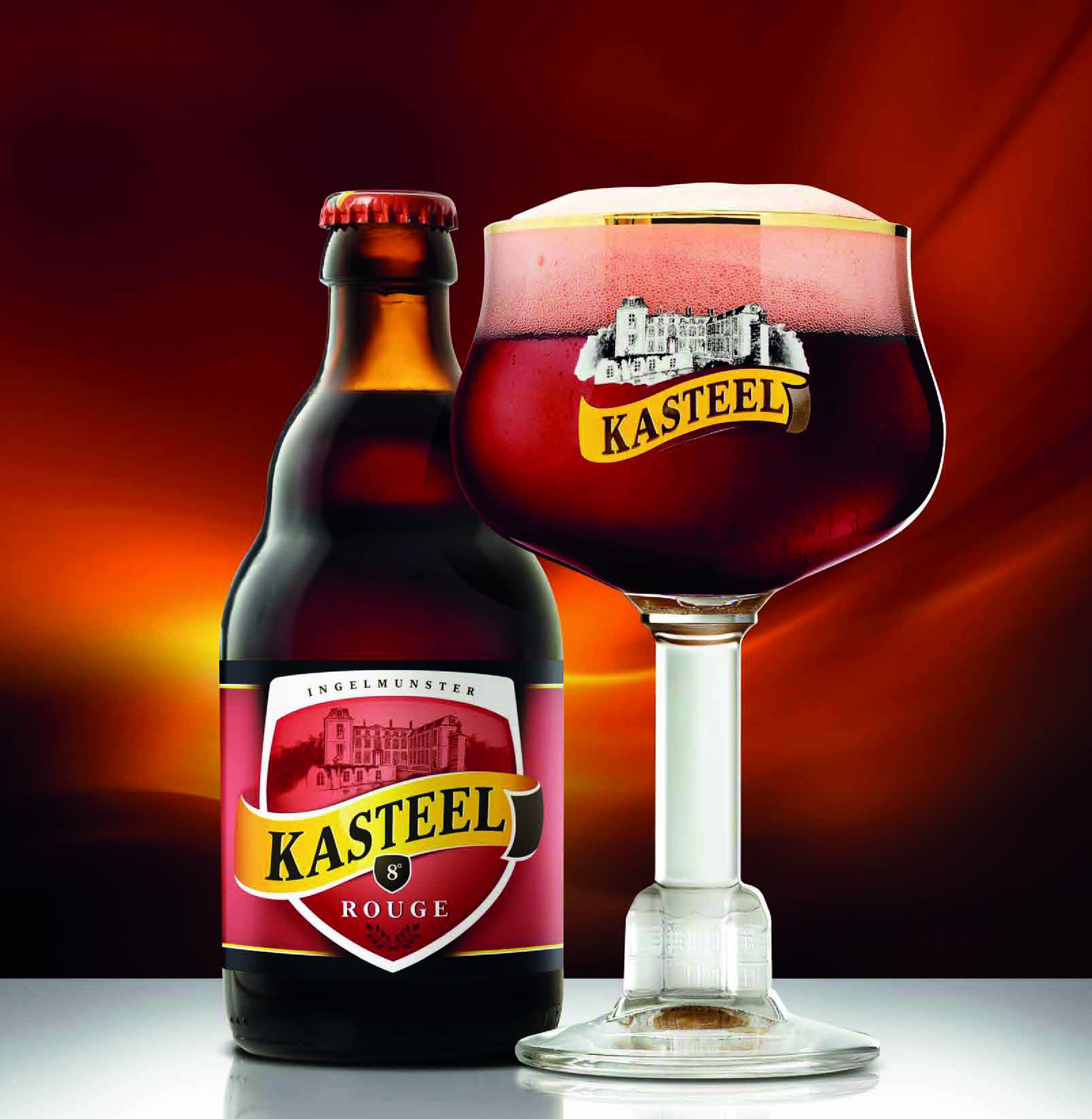 Brouwerij Van Honsebrouck Kasteel Rouge Fruit Beer 8 0 Pullo Kasteel Rouge Bier Kasteel