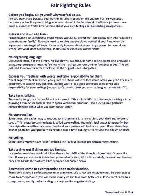Rules For Having Calm Discussions About Disagreements  Fair