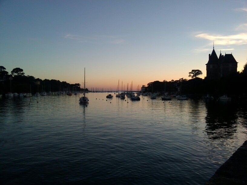 Pornic#France#sunset#