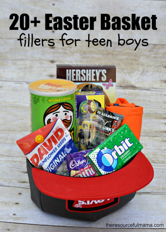 Teen boy easter basket and 20 ideas for fillers teen boys teen boy easter basket and 20 ideas for fillers negle Gallery
