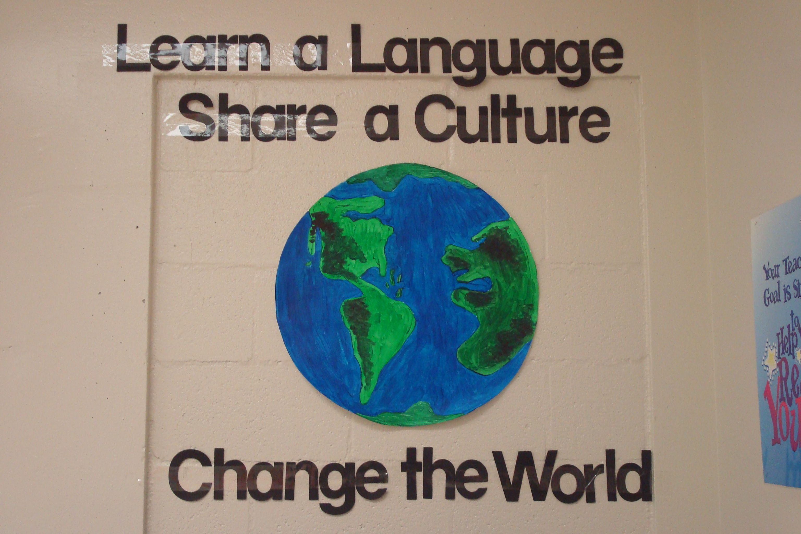 Bulletin Board Or Classroom Decoration For Foreign