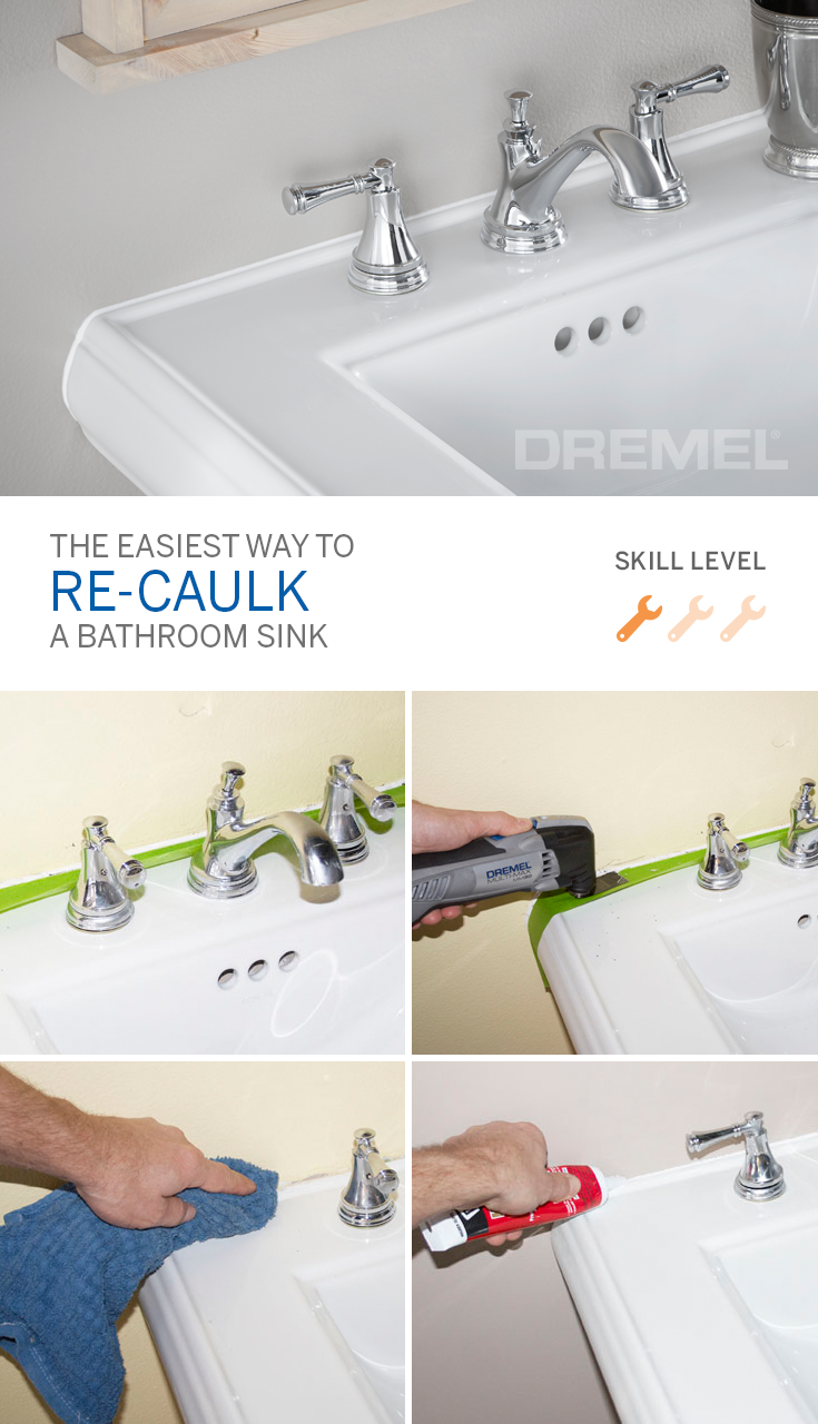 It S Amazing How A Little Re Caulking Can Make All The Difference In Your Bathroom And These Caulking Tips F Diy Home Improvement Home Repair Home Maintenance [ 1280 x 735 Pixel ]