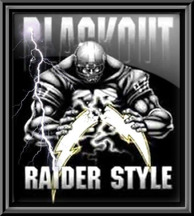 Raiders Vs Chargers, Raider Nation, Oakland