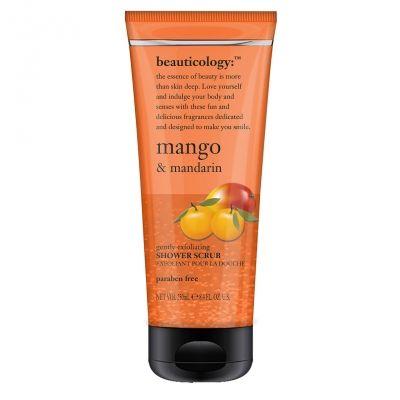 Mango exóticas combinados con un ponche de cítricos de mandarina para crear un exfoliante scent.Gently picante y fresco, con pequeños granos de pulido de la piel ecológica matorrales. Para una piel brillante y radiante.