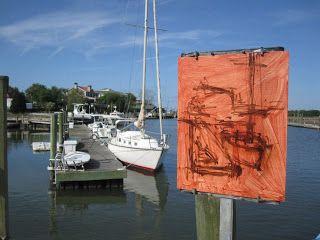 DAN GRAZIANO FINE ART: Morning Paint-Out at Shem Creek