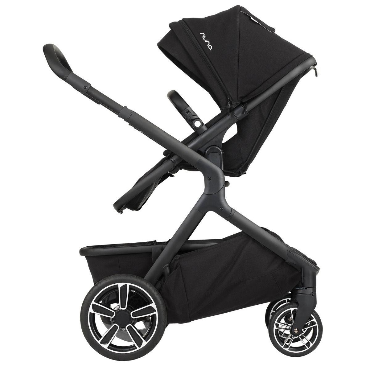 Demi grow stroller caviar in 2020 twin strollers