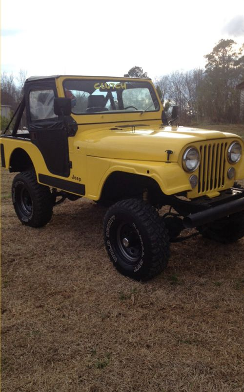 1981 CJ-5 Jeep - Photo submitted by Nathaniel Webb.