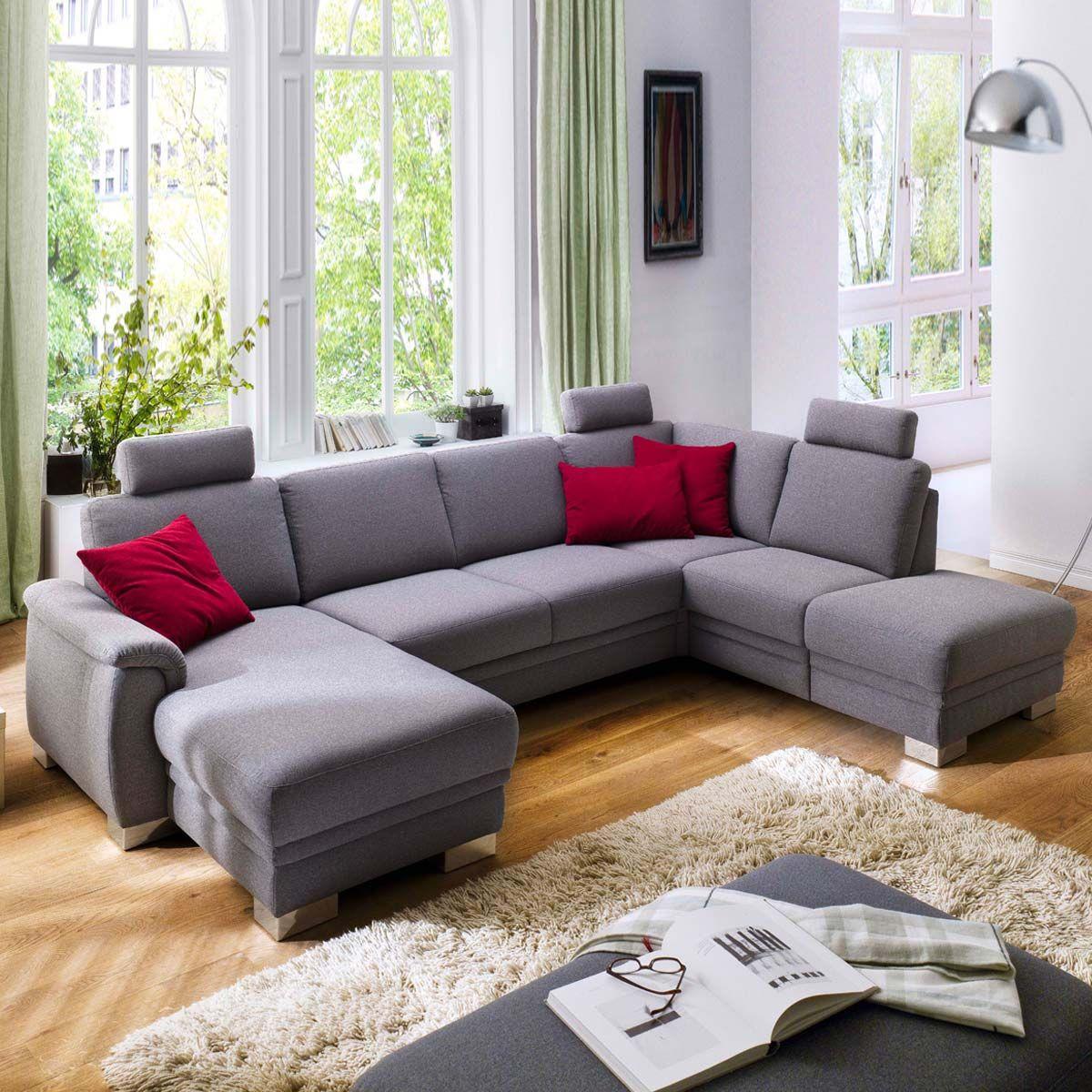 Marvelous #Wohnlandschaft Galten Im Hochwertigen #Stoffgewebe. #Wohnzimmer #Garnitur  Findet Ihr Unter Www