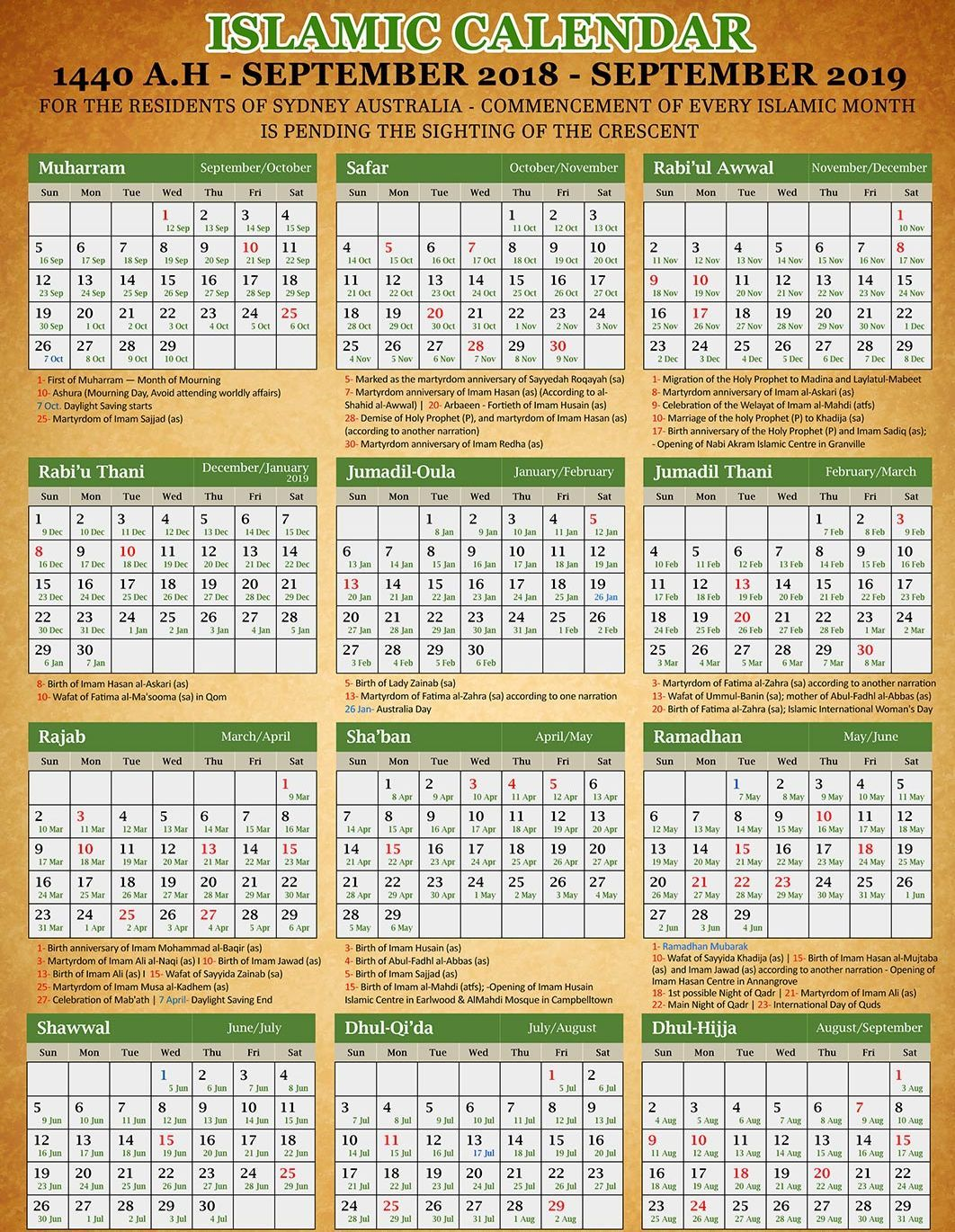 Islamic Calendar 2019 Hijri Calendar Today Date Pdf Download Hijri Calendar Islamic Calendar Today Calendar