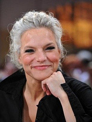 Ina Müller Mature Models Pinterest Gray Hair Boomer