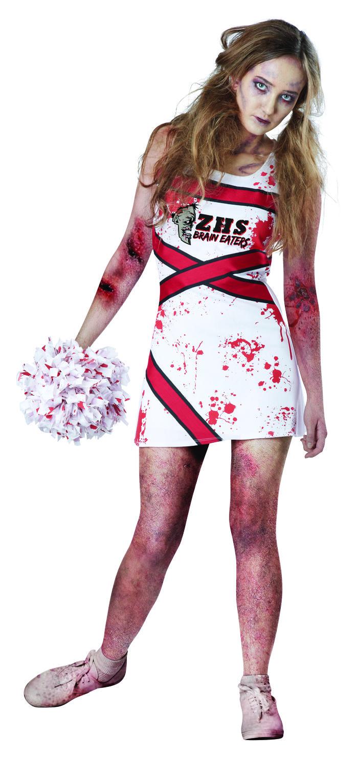 Zombie Cheerleader Costume Meijer Halloween 2014