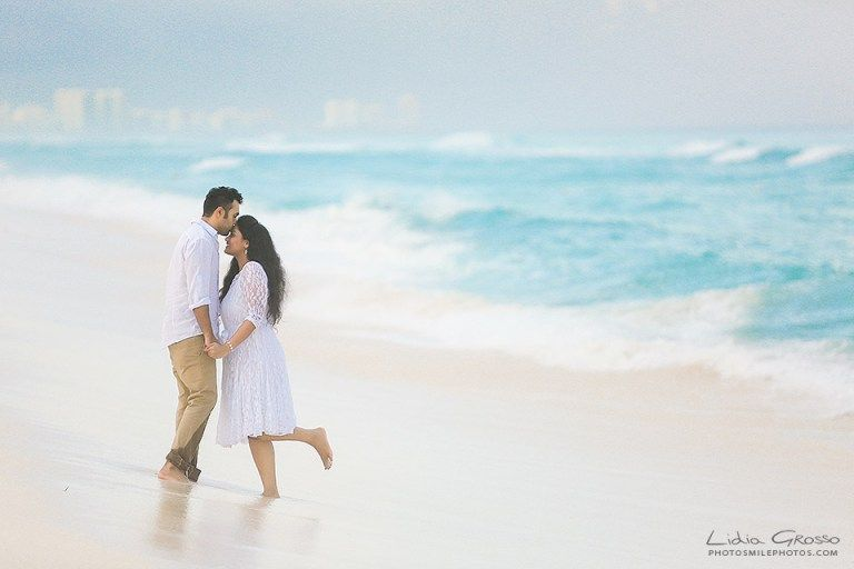 Praneeth And M A Well Deserved Honeymoon Couples Beach